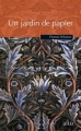 Couverture Un jardin de papier Editions Alto 2005