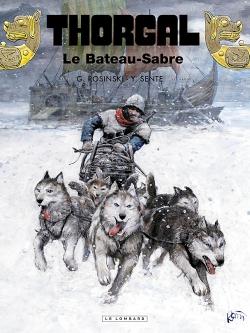 Couverture Thorgal, tome 33 : Le Bateau-Sabre