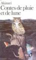 Couverture Contes de pluie et de lune Editions Folio  1984
