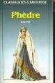Couverture Phèdre Editions Larousse (Classiques) 1993