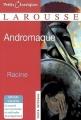 Couverture Andromaque Editions Larousse (Petits classiques) 2011