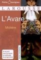 Couverture L'Avare Editions Larousse (Petits classiques) 2010