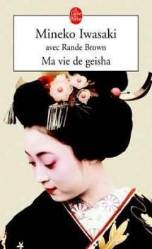 Couverture Ma vie de geisha