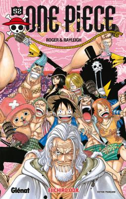Couverture One Piece, tome 52 : Roger & Rayleigh