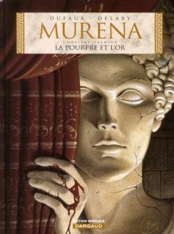 Couverture Murena, tome 01 : La pourpre et l'or