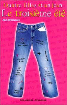 Couverture Quatre filles et un jean, tome 3 : Le troisième été