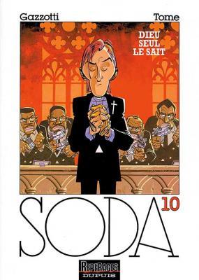 Couverture Soda, tome 10 : Dieu seul le sait