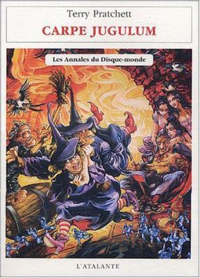 Couverture Les Annales du Disque-Monde, tome 24 : Carpe Jugulum