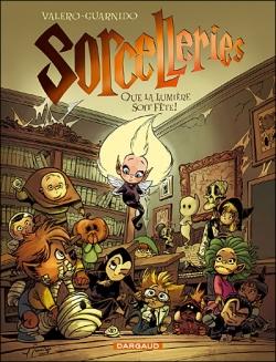 Couverture Sorcelleries, tome 2 : Que la lumière soit fête !