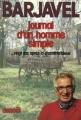 Couverture Journal d'un homme simple Editions Denoël 1982