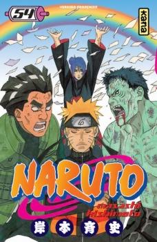 Couverture Naruto, tome 54