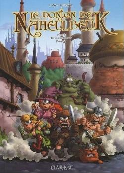 Couverture Le donjon de Naheulbeuk (BD), tome 09 : Troisième saison, partie 3