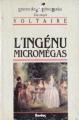 Couverture Micromégas, L'Ingénu Editions Bordas (Univers des lettres) 1984