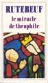 Couverture Le miracle de Théophile Editions Flammarion (GF) 1987