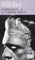 Couverture Frankenstein ou le Prométhée moderne / Frankenstein Editions Folio  (SF) 2000
