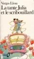 Couverture La tante Julia et le scribouillard Editions Folio  1989