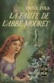 Couverture La faute de l'abbé Mouret Editions Le Livre de Poche 1954