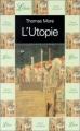 Couverture L'utopie Editions Librio 2002