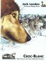 Couverture Croc-Blanc / Croc Blanc Editions Gallimard  (Jeunesse - Chefs-d'oeuvre universels) 1998