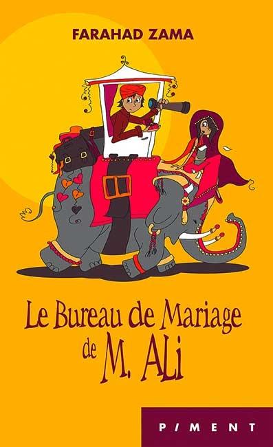 Couverture Le bureau de mariage de M. Ali