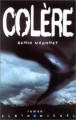 Couverture Colère Editions Albin Michel 2001