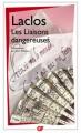 Couverture Les Liaisons dangereuses Editions Flammarion (GF) 2006