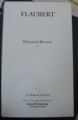 Couverture Madame Bovary Editions Garnier (La Bibliothèque) 2009