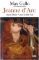 Couverture Jeanne d'Arc, jeune fille de France brûlée vive Editions XO 2011