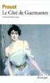 Couverture Le Côté de Guermantes, intégrale Editions Folio  (Classique) 1994