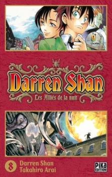 Couverture Darren Shan, tome 08 : Les Alliés de la nuit