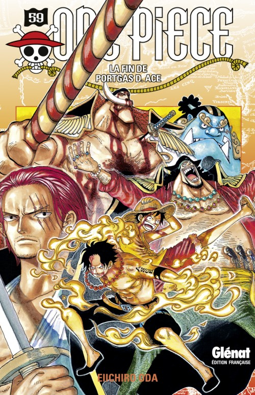 Couverture One Piece, tome 59 : La Fin de Portgas D.Ace