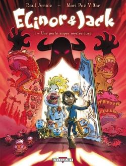 Couverture Elinor et Jack, tome 1 : Une porte super mystérieuse
