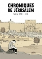 Couverture Chroniques de Jérusalem Editions Delcourt (Shampooing) 2011
