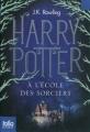 Couverture Harry Potter, tome 1 : Harry Potter à l'école des sorciers Editions Folio  (Junior) 2011