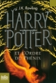 Couverture Harry Potter, tome 5 : Harry Potter et l'ordre du phénix Editions Folio  (Junior) 2011