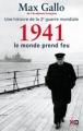 Couverture Une histoire de la Deuxième Guerre mondiale, tome 2 : 1941, le monde prend feu Editions XO 2011