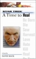 Couverture Star Trek: A Time to..., book 8 : A Time to Heal Editions Pocket Books 2004
