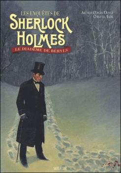 Couverture Les enquêtes de Sherlock Holmes, tome 2 : Le diadème de Béryls