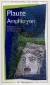 Couverture Amphitryon Editions Flammarion (GF - Bilingue) 2001