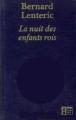 Couverture La nuit des enfants rois Editions Hachette 1983