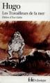 Couverture Les Travailleurs de la mer Editions Folio  (Classique) 2002