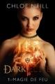 Couverture Dark Elite, tome 1 : Magie de feu Editions Castelmore 2012