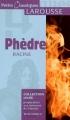 Couverture Phèdre Editions Larousse (Petits classiques) 2006