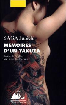 Couverture Mémoires d'un Yakuza