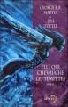 Couverture Windhaven / Elle qui chevauche les tempêtes Editions Denoël (Lunes d'encre) 1999