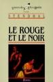 Couverture Le rouge et le noir Editions Bordas (Univers des lettres) 1984