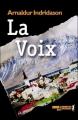 Couverture La voix Editions Métailié (Noir) 2007