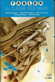 Couverture Fables, tome 14 : La guerre des nerfs