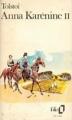 Couverture Anna Karénine, tome 2 Editions Folio  1972