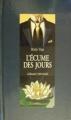Couverture L'écume des jours Editions Gallimard  (1000 soleils) 1981